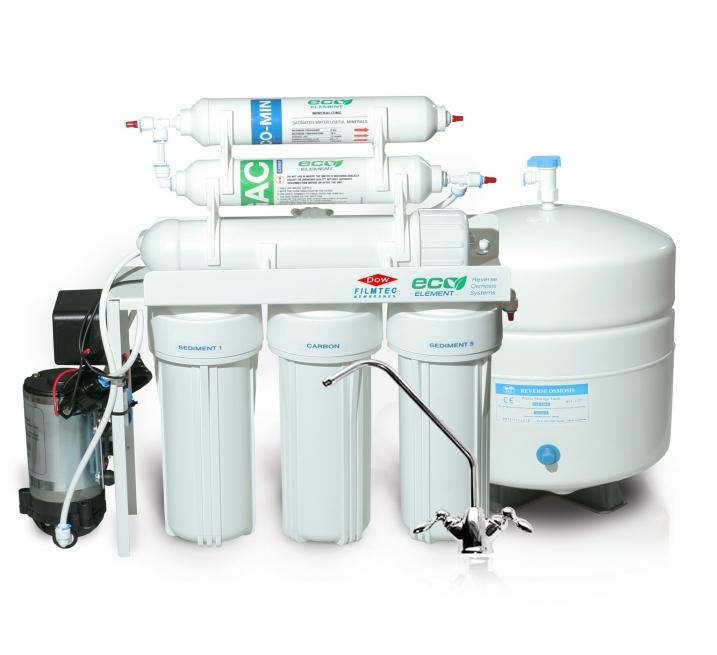 Фильтр обратный осмос EcoElement RO-6W Pump
