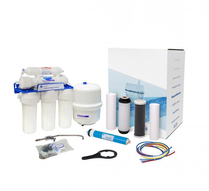 Зворотний ОСМОС Aquafilter FRO5JGM з мінералізацією