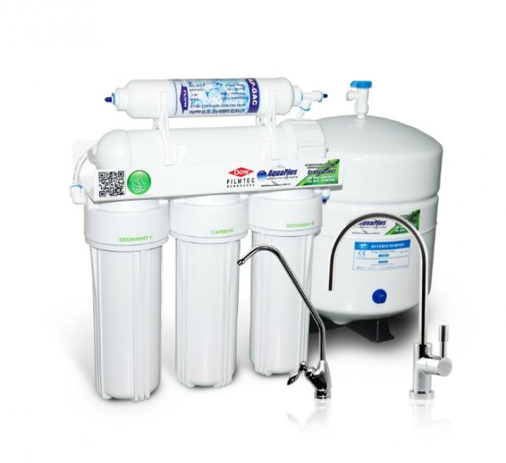 Фильтр обратный осмос AquaPlus Lux 5